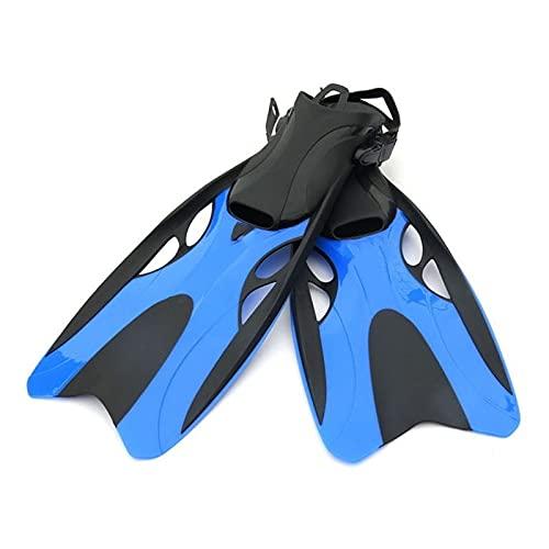 WangQianNan Aletas de Snorkel Adultos Aletas de natación Silicona Ajustable Scuba Zapatos de Buceo Superior Pies Monofin Pies Monofin Buckers para bucear y Nadar (Color : Yellow L XL)