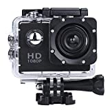 KNOSSOS 2.0 inch Dual Screen WiFi Sports DV Action Camera Waterproof Camera Black