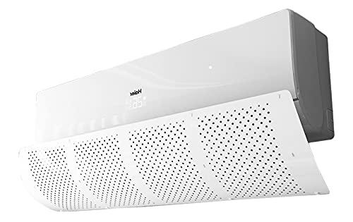 Deflettore del condizionatore d'aria,deflessione di 180 gradi (bianco) 90x27cm