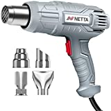 NETTA Heat Gun - 2000W - Professional Hot Air Gun with 2 Temperature...