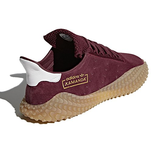 adidas adidasCQ2219 Kamanda - Bordeaux/Marron (Burgundy/Gum) - CQ2219 Homme, (Burgundy/Gum), 46.5 EU