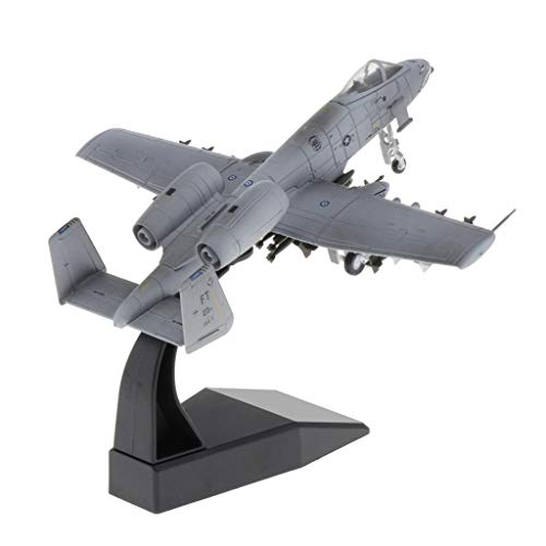 SM SunniMix a-10 Attack Fighter Aircraft Model 1: 100 Scale Plane Aircraft Collectibles
