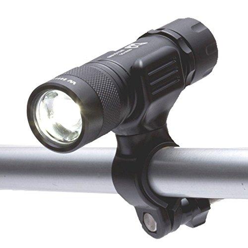 GENTOS(ジェントス) LEDライト 自転車用パイプホルダー付 【明るさ100ルーメン/実用点灯10時間/防滴】 ...