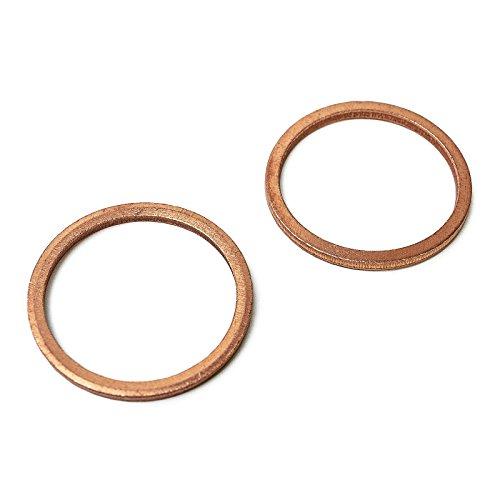 1 joint en cuivre pour vis de vidange d'huile - Universel - 24 x 32 x 2,5 mm.