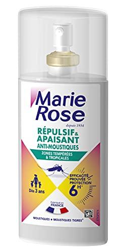 MARIE ROSE Spray Repulsif/Apaisant Anti-Moustiques 6H