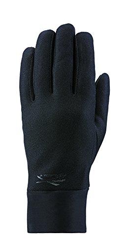 Seirus Innovation 1167 Xtreme Hyperlite Allwetter-Polartec-Handschuh mit Soundtouch-Technologie – Sprechen, Text, Surfen, Swipe!, Herren Damen, 1167, Schwarz, S/M