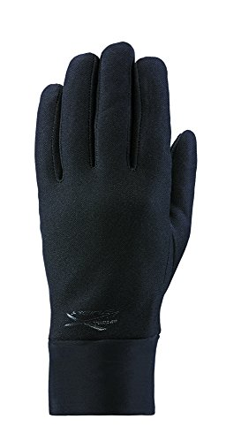Seirus Innovation 1167 Mens Xtreme Hyperlite All Weather Polartec Glove with Soundtouch Technology - Talk, Text, Surf, Swipe!, SM/MD, Black