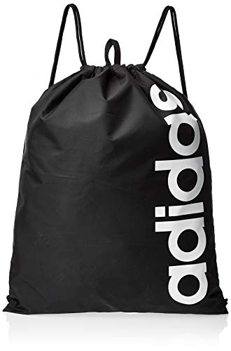adidas Lin Core GB Sports Bag, Unisex Adulto, Black/Black/White, NS