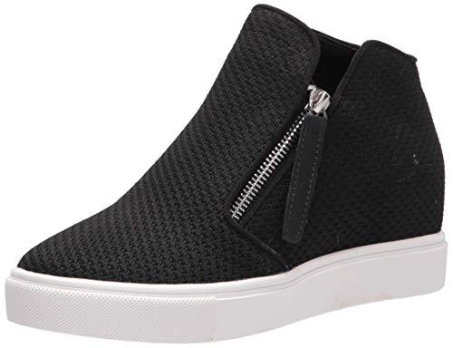 Steve Madden womens Click Sneaker, Black, 8 US