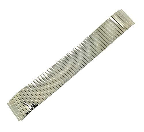 Correa de Reloj elástica de Metal Fino de 20 mm para expansión, giratoria o Flexible.