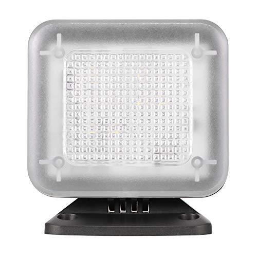 Simulador de luz LED de TV falsa antirrobo, con adaptador de CA, temporizador de seguridad para el hogar y sensor de luz, adaptador de alimentación USB