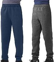 TEXFIT 2-Pack 8-16yrs Boys' Jogger Pants, Fleece Sweatpants (2pcs Set)