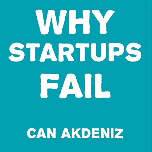 Why Startups Fail audiobook cover art