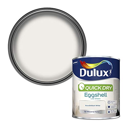Dulux Quick Dry Eggshell Paint For Wood And Metal...