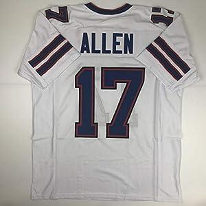 Unsigned Josh Allen Buffalo White Custom Stitched Football Jersey Size Men's XL New No Brands/Logos