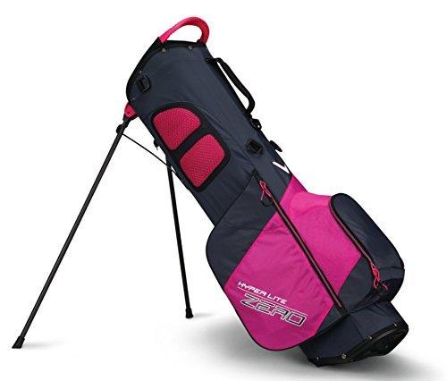Callaway Golf 2018 Hyper Lite Zero Stand Bag, Titanium/ Neon Yellow/ White,...