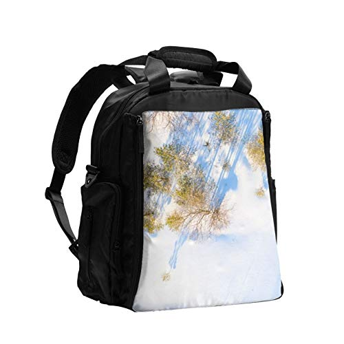 Snowy Tree Women Diaper Bag Backpack Large Capacity Baby Nappy Backpacks Bags Care for Travel Multi-Function Fashion