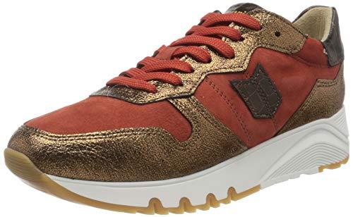 Tamaris Damen 1-1-23752-25 Sneaker, metallic, orange, 40 EU