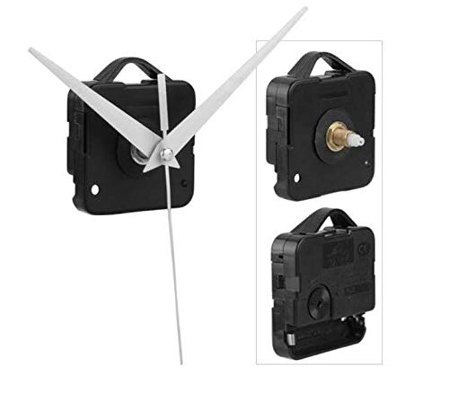 Easy Provider 2 pieces Quarz-Uhrwerk Quarzuhrwerk + 3 Zeiger + Installationszubehör