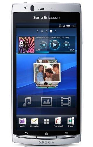 Sony Xperia arc, 1-Smartphone argento, SIM singola, Android, GSM/GPRS/GSM, CDMA, HSPA, Barra, Qualcomm)