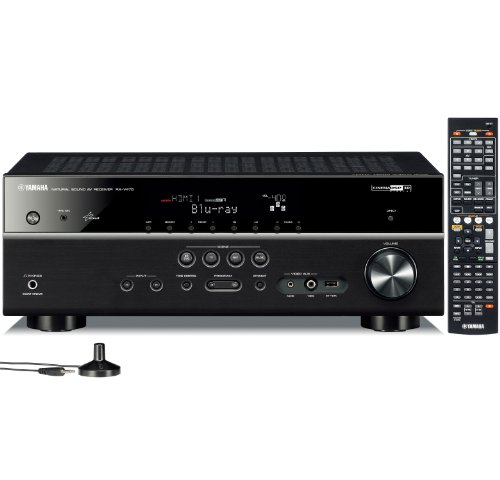 yamaha home audio receivers Yamaha RX V475 5.1 Channel Network AV Receiver with Airplay