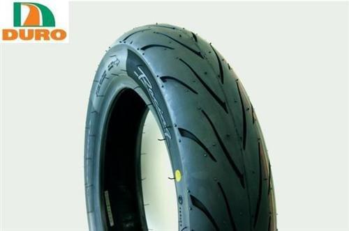 DURO(デューロ) バイクタイヤ チューブレス ハイグリップ 3.50-10 350-10 DM1107 フロント/リア兼用 19308
