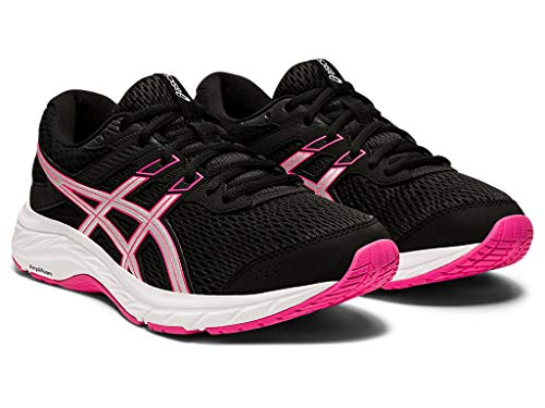 ASICS womens 1012A571 Gel-contend® 6 Black Size: 3.5 UK