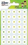 Avery OEIL245 - Paquete de 245arandelas autoadhesivas, 13mm de diámetro, colorblanco
