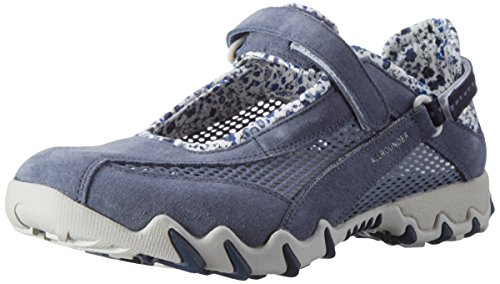 Allrounder by Mephisto NIRO, Chaussures Multisport Outdoor Femme, (TealTeal Coresuede 95O.Mesh 95), 39.5 EU