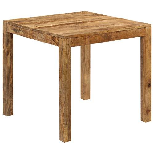 vidaXL Mangoholz Massiv Esszimmertisch 82x80x76 cm Esstisch Küchentisch Tisch