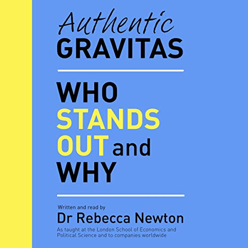 Authentic Gravitas audiobook cover art