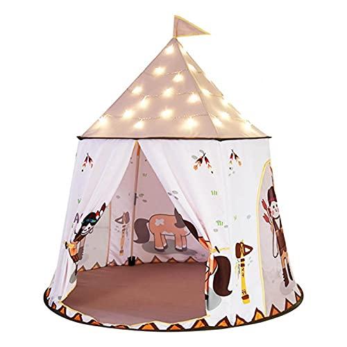EVTSCAN Tienda de campaña para niños, casa de Juegos de Princesa Castle, Tienda de campaña para niños Interior Grande para Regalo de bebé