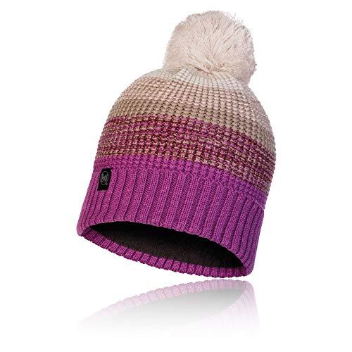 Buff 120859.639.10.00 Knitted & Polar Hat ALYONA Mauve Mixte Adulte, Violet (dunkelviolett), Taille Unique