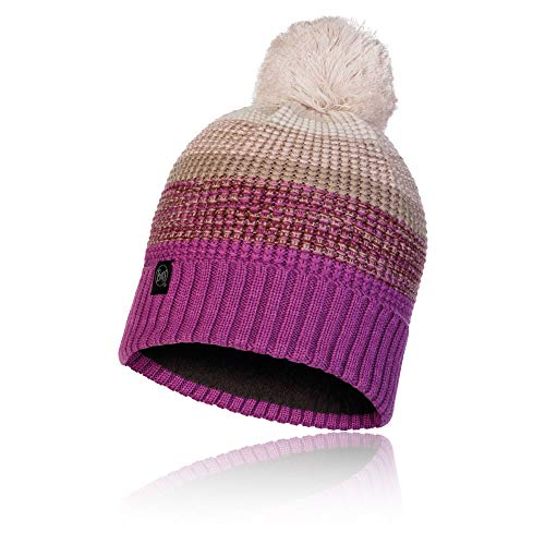 Buff 120859.639.10.00 Knitted & Polar Hat ALYONA Mauve Mixte Adulte, Violet (dunkelviolett), Taille Unique