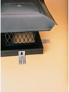 MEKTY 4//6//8 Inch Stove Pipe Chimney Cap Fireplaces Rain Hat Smokeware Zinc Alloy Mushroom-Shaped