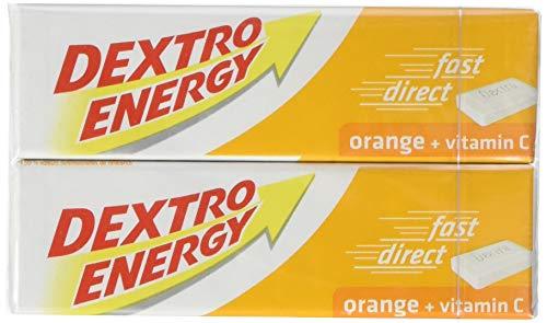 Dextro Energy Doppel Orange +Vitamin C, 12er Pack (12 x 94 g Packung)