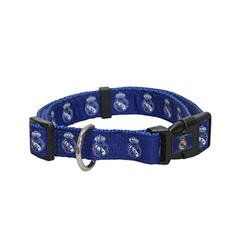 Real Madrid CL-20M-RM Collar para Perro, Talla M