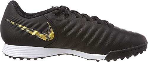 Nike Herren LegendX 7 Academy TF Fußballschuhe, Schwarz (Black/MTLC Vivid Gold 077), 41 EU