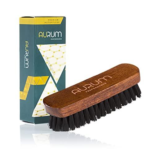 Aurum-Performance® Textilbürste für die effektive Trocken- und Feuchtreinigung von Textilien - Polsterbürste & Teppichbürste (Textilbürste)