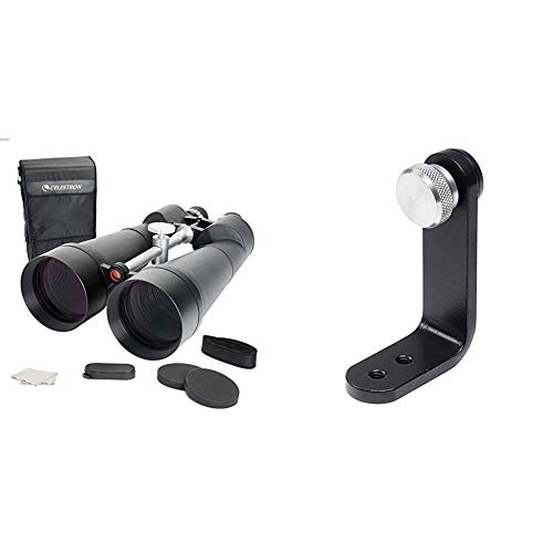 Celestron 71017 SkyMaster 25 x 100 Binocular & Opticron Binocular Tripod Mount for Binoculars +50mm...