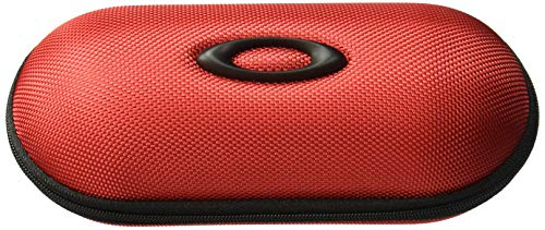 Oakley Ballistic Sunglass Case, Red, One Size