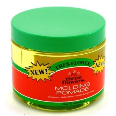 Three Flowers Molding Pomade 6 oz. Jar (Pack of 6) by Three Flowers