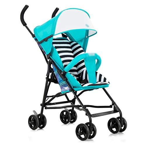 Sillas de paseo Cochecito de bebé Ligero Plegable Simple Portátil Baby Out...