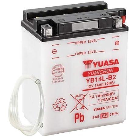 Batterie Yuasa Yb14l B2 Dc Offen Ohne Säure 12v 14ah Cca 175a 136x91x168mm Auto