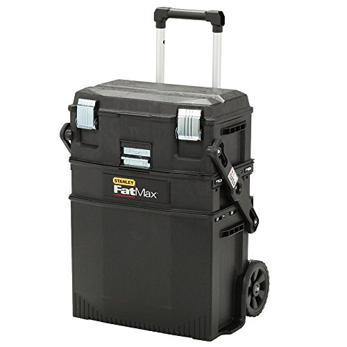 Stanley Portable Toolbox Rolling Cabinet Storage Tool Chest Mechanic
