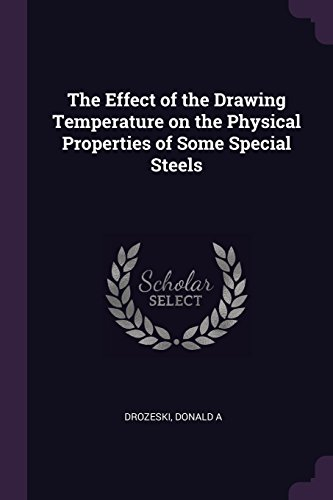 EFFECT OF THE DRAWING TEMPERAT