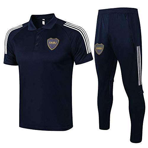 T-Shirt Nuevo Regalo de Uniforme de fútbol para Hombre de fútbol de Manga Corta de fútbol de fútbol de fútbol Uniforme de Fan Uniforme Pantalones Cortos de fútbol -Moda-40-X-grande889