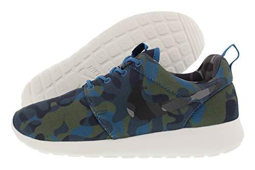 Nike Damen WMNS Roshe One Print Sneaker, blau/grün, 39 EU