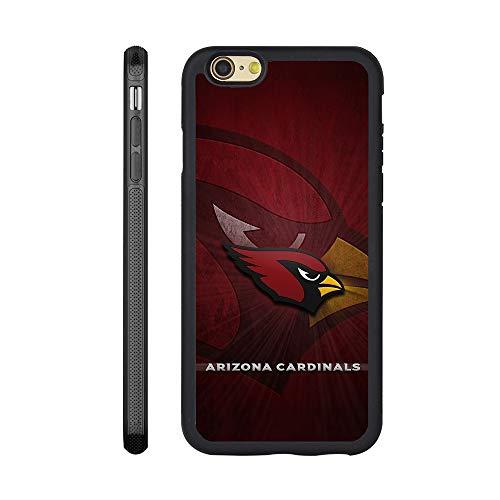 Custom Phone Case for iPhone 6 Plus/6s Plus Cardinals Flexible Slim Soft TPU Arizona Phone Case Scratch-Resistant Shockproof Protective Anti-Slip Back Cover