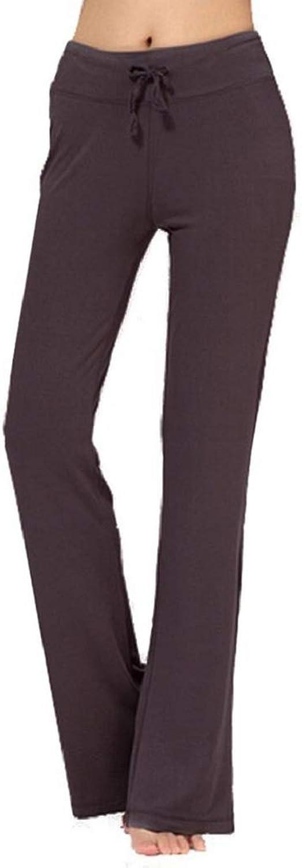 TownCat Women's Casual Yoga Pants Loose Pants Ladies Athletic Pants Comfy Leg Pants Tie Pants